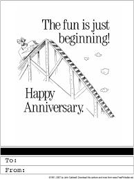 wedding anniversary printable greeting card