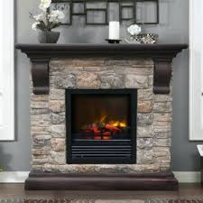 Built In Electric Fireplace Electric Fireplace With 36 Mantel And Built In Storage Fireplaces