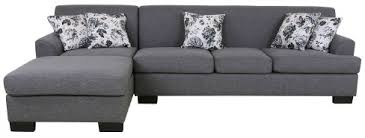 Grey Sofa With Chaise 10 Modern Grey Sofas With A Chaise