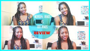 Box Braids Vs Individuals | individual braids vs box braids review youtube