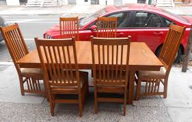 mission style table and chairs marceladick com