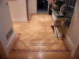 no 28 the infinity hardwood floor border hallway installation in