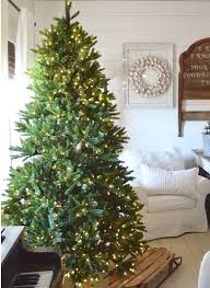 warm white christmas tree lights 9 foot king fraser fir quick shape tree with 1200 warm white led