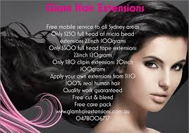 mobile hair extensions glam hair extensions mobile hair extensions sydney mobile hair