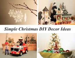 diy christmas home decor simple christmas home decorations