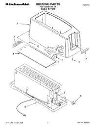 Kitchenaid Toaster Oven Parts List Parts For Kitchenaid Ktt570 Toaster Appliancepartspros Com