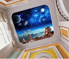 online buy wholesale ceiling wallpaper galaxy from china ceiling