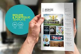 resume portfolio template resume portfolio template resume templates creative market