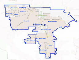 Map Of Riverside County District 41 Mark Takano Teacher For Congress