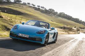 miami blue porsche boxster 718 boxster gts miami blue the new 718 boxster gts and 718