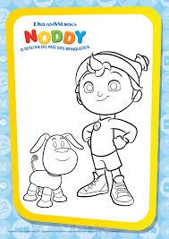 133 noddy toyland printables images toys