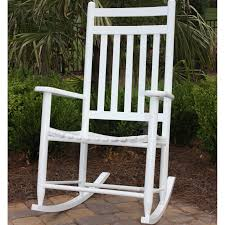 Polywood Jefferson Rocking Chair Chair Amazing White Front Porch Rocking Chairs Jefferson Rocking