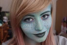mermaid halloween makeup look the frankie edition