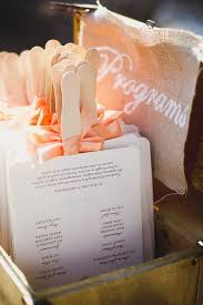 diy wedding program fan best 25 diy wedding program fans ideas on
