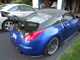 nissan 370z gt wing post your wings u0026 things sbc represent page 53 my350z com