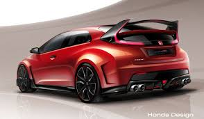 the honda civic type r concept is the car honda has to sell here