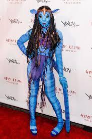 Halloween Avatar Costume Broadway U0027s Cynthia Erivo U201cavatar U201d Heidi Klum U0027s