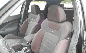 nissan juke nismo interior 2013 nissan juke nismo quick drive motor trend
