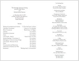 blank wedding program templates best photos of free blank printable church programs free church