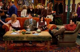 the couch series the central perk couch on friends was always unoccupied for a
