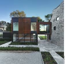 old home meets contemporary architecture bord du lac house in