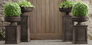Urn Planters With Pedestal Planter Collections Rh