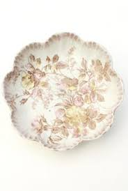 antique china pattern pink roses china