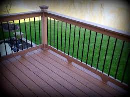 deck post cap lighting st louis decks screened porches