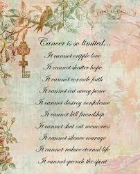 Lost Loved Ones To Cancer Pin By Sue Sellers On Sayings Poem And Quotes