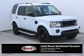 red land rover lr4 land rover lr4 in houston tx