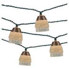 10ct decorative string lights iridescent tear drop plastic cover