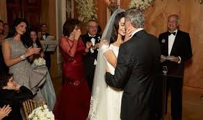 george clooney wedding the at amal and george clooney s wedding