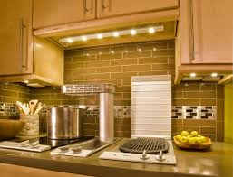 astounding kitchen decoration using lamp under cabinet including