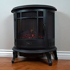 Electric Space Heater Fireplace by Amazon Com Della 1400w Electric Fireplace Portable Stove Space