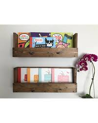 amazing deal on nursery book shelves set of 2 book shelves wall