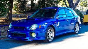 2001 subaru impreza wrx sti gdb 6 speed for sale subaru impreza 2001 subaru impreza wrx sti sportswagon canada import japan
