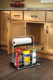 Under Cabinet Shelves by Amazon Com Rev A Shelf 544 10c 1 Under Sink Pull Out