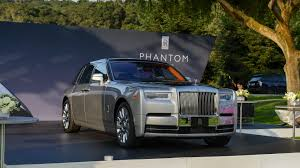 roll royce suv interior 2018 rolls royce phantom commands attention at monterey
