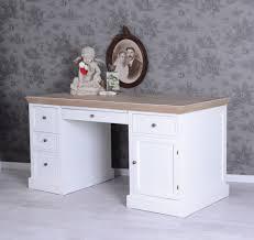 Schreibtisch 40 Tief Gigantischer Schreibtisch Shabby Weiss Landhausstil Palazzo24 De