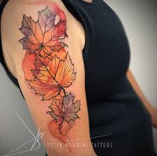 best 25 autumn tattoo ideas on pinterest fall leaves tattoo