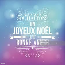 merry christmas greeting french vector art getty