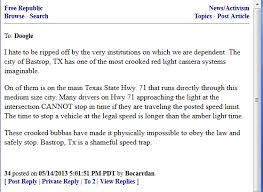 red light ticket texas bastrop red light cameras