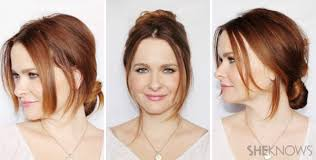 hairstyles only 3 hairstyles that only require three bobby pins each