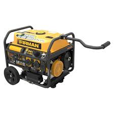 firman power 3650 4550 watt gas powered portable generator with