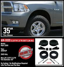 lifted 2011 dodge ram 1500 2009 2011 dodge ram 1500 2wd front 2 25 rear 1 5 inch lift kit