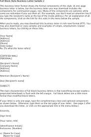 Letter Template Business Business Letter Template Download Free Premium Templates