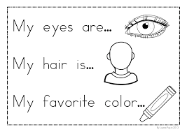 creative idea all about me coloring pages all about me me page