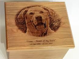 pet urns for dogs laser engraved custom pet urns