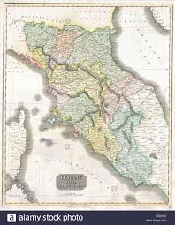 Tuscany Italy Map Geography Florence Stock Photos U0026 Geography Florence Stock Images
