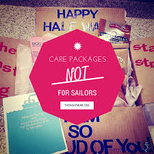 New Mom Care Package Care Packages Not For Sailors The Navy Mom
